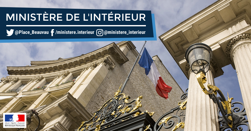 Accueil minist re de l 39 int rieur for Ministere exterieur france