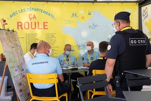Interview croisée - Mission police et gendarmerie au Tour de France 2020