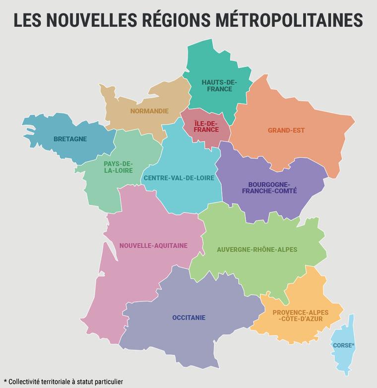 nouvelles regions francaises