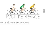 Dispositif de sécurisation du Tour de France 2017