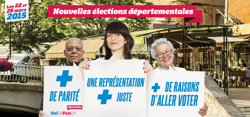 Lancement de la campagne ouijevote elections r gionales for Election ministere interieur