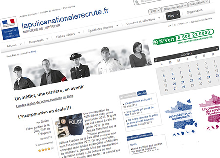 Recrutement de la police nationale 2013 actualit s for Interieur gov fr