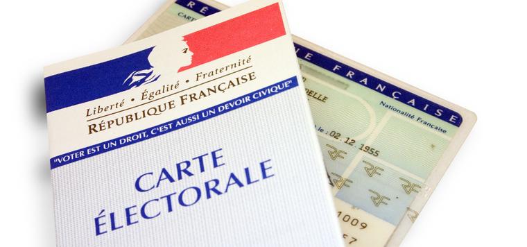 Les cartes électorales et pièces d'identité à présenter au moment du vote