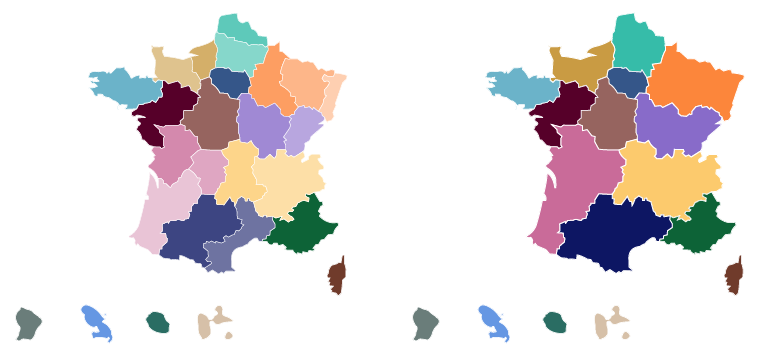 Map Of France New Regions.New French Regions Highcharts Official Support Forum