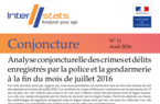 Interstats Conjoncture N° 11 - Août 2016