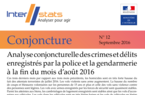 Interstats Conjoncture N° 12 - Septembre 2016