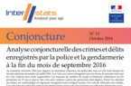 Interstats Conjoncture N° 13 - Octobre 2016