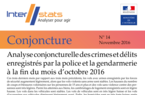 Interstats Conjoncture N° 14 - Novembre 2016