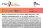 Interstats Conjoncture N° 61 - Octobre 2020