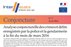 Interstats Conjoncture N° 7 - Avril 2016