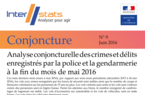 Interstats Conjoncture N° 9 - Juin 2016