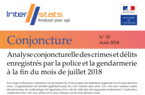 Interstats Conjoncture N° 35 - Août 2018