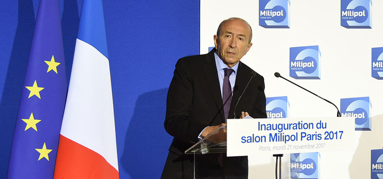 Inauguration du salon milipol paris 2017 interventions for Salon milipol